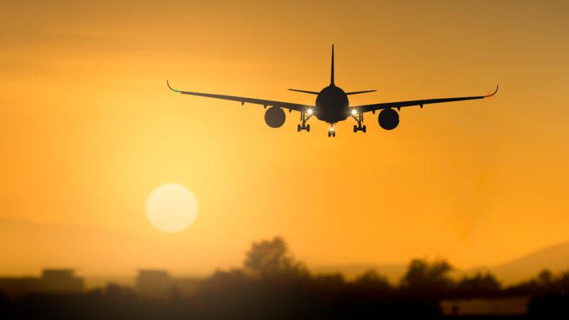airplane sunset fuel tax european union flight aviation european citizens initiative
