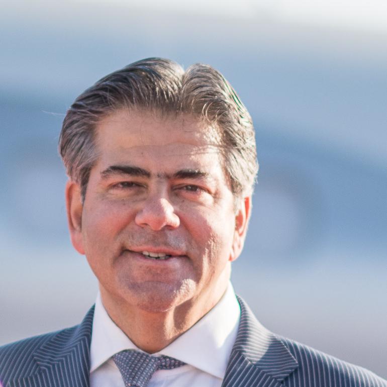 Athar Husain Khan secretary general European Business Aviation association