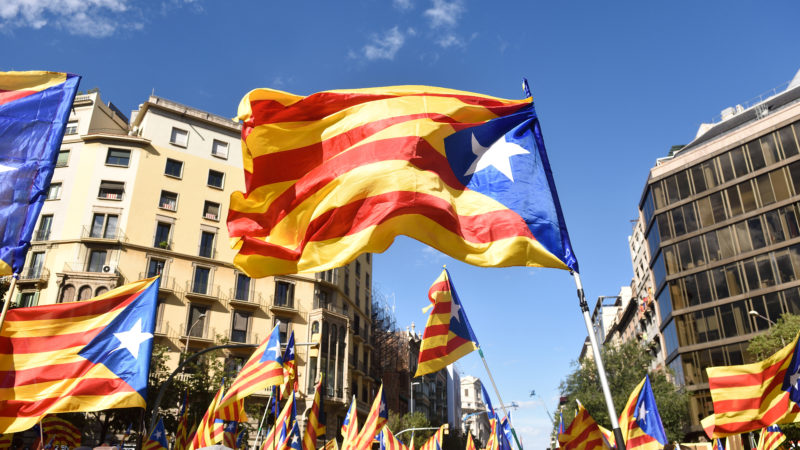 catalonia independence debate referendum European Union article 7 international law