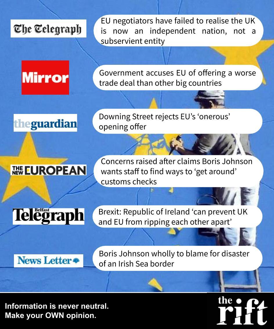 UK withdrawal negociations - 26/02/2020