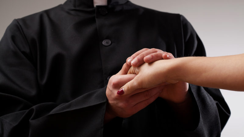 priest church religion celibacy married clergy marriage