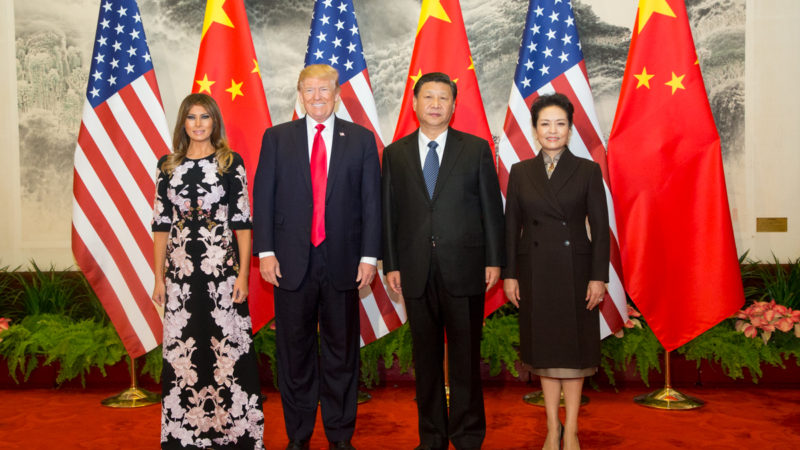 china united states us donald trump xi jinping cold war politics